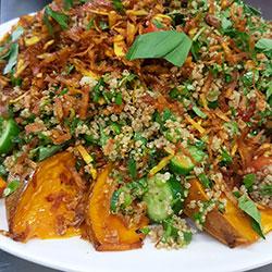 Toasted quinoa salad thumbnail