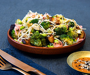 Char grilled broccoli salad thumbnail