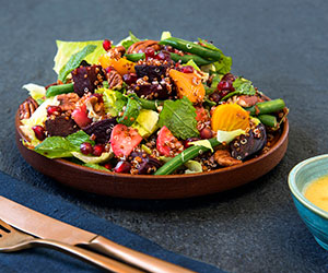 Rainbow beetroot salad thumbnail