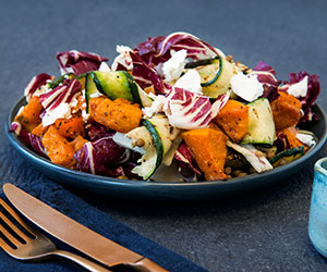 Sweet paprika roasted pumpkin salad thumbnail