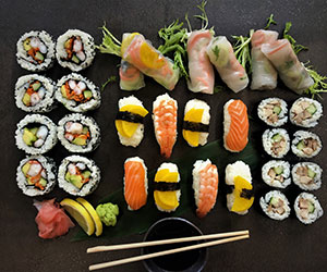 The sushi platter - serves 10 thumbnail