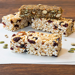 Low GI energy bar thumbnail
