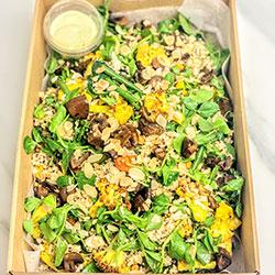 Brown rice and quinoa salad thumbnail