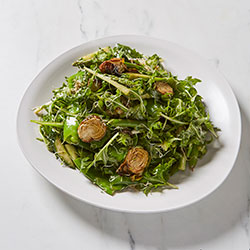 Asparagus and brussel sprout salad thumbnail