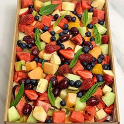 Fresh seasonal fruit salad thumbnail