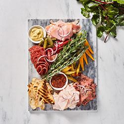 Shaved European deli meat platter thumbnail