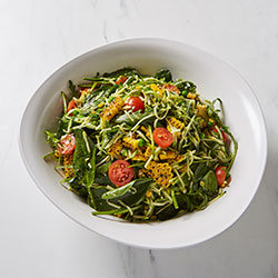 Zucchini noodle salad thumbnail