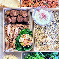 Build your own Middle Eastern lunch thumbnail