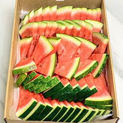 Freshly cut watermelon wedges  thumbnail