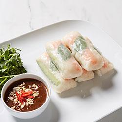 Prawn rice paper rolls thumbnail