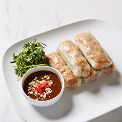 Tofu rice paper rolls thumbnail