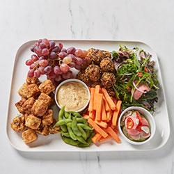 Vegan and gluten free Asian platter thumbnail