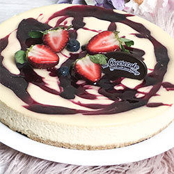 Wildberry Baked Cheesecake - large thumbnail