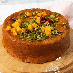 Gluten Free Carrot and Orange Cake thumbnail