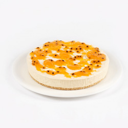 Passionfruit Mango Cheesecake - large thumbnail