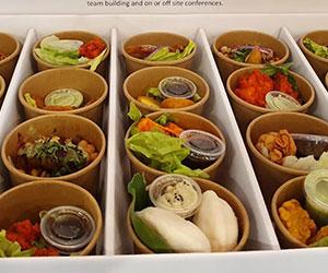 Vegetarian entree cup box thumbnail