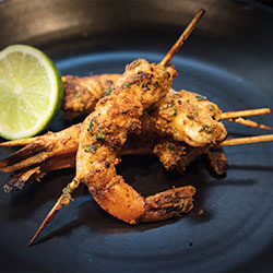 Bangkok style prawn skewer thumbnail
