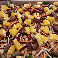 Chickpea salad thumbnail