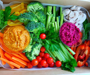 Vegetable platter thumbnail