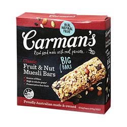 Carman's Muesli Bars thumbnail