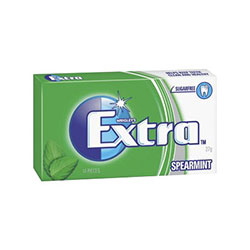 Extra Spearmint Chewing Gum thumbnail