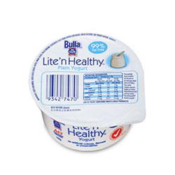 Plain Yoghurt - Bulla Lite N Healthy - 110g thumbnail