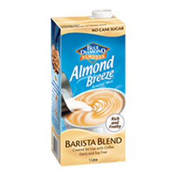 Almond milk - Blue Diamond Barista Blend - 1 litre thumbnail