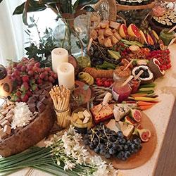 Vegan grazing table thumbnail