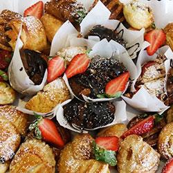 Muffin and danish platter thumbnail