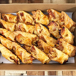 Bacon, cheese and tomato turnover platter thumbnail