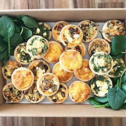 Gourmet mixed tarts platter thumbnail