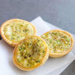 Savoury tartlets - mini thumbnail