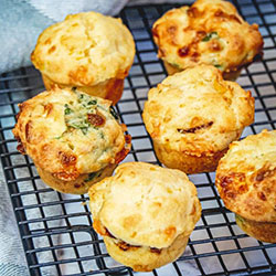 Savoury muffin - mini thumbnail