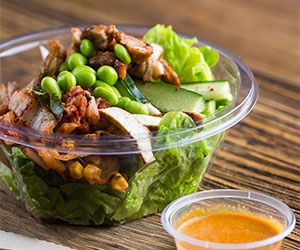 Korean BBQ chicken superfood salad thumbnail