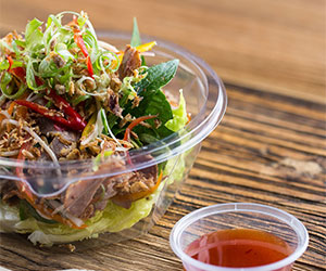 Shredded chilli pork salad thumbnail