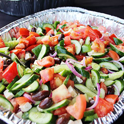 Greek salad platter thumbnail