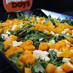 Pumpkin and rocket salad thumbnail