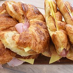Breakfast croissant - mini thumbnail