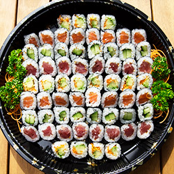 Mini maki roll platter - serves 3 to 4 thumbnail