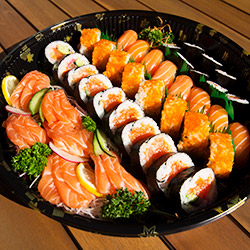 Salmon platter - serves 4 to 5 thumbnail