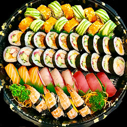 Sushi delux platter - serves 6 to 8 thumbnail