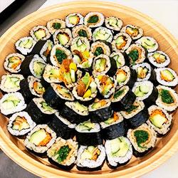 Vegetarian handroll platter - serves 5 to 6 thumbnail