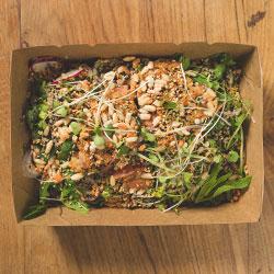 Salmon poke bowl salad thumbnail