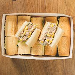 Local tuna mayonnaise baguettes thumbnail