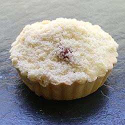 Apple rhubarb crumble tart - individual thumbnail