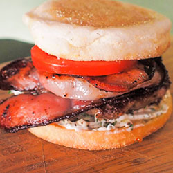 Breakky mini burger  thumbnail