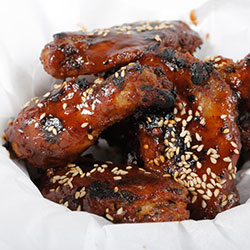 Spicy chicken wings thumbnail