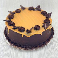 Chocolate and caramel mud swirl thumbnail