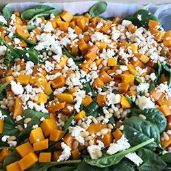 Roast pumpkin salad platter thumbnail