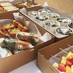 Summer inspired buffet lunch thumbnail